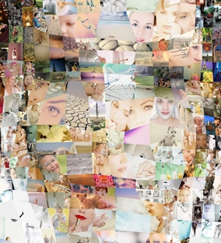 Sarah as a Dynamic Photo Mosaic